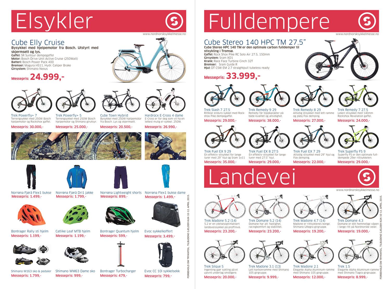 Nordnorsk sykkelmesse reklameavis